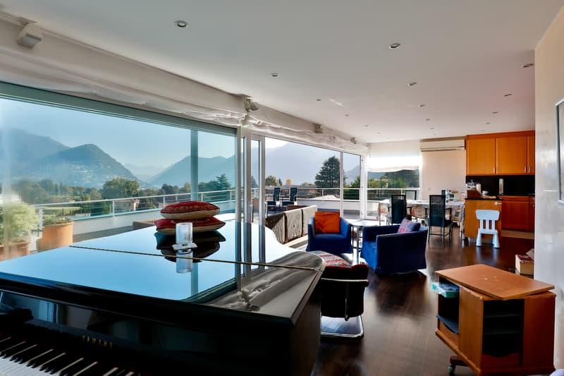 Splendida Palazzina a Reddito di 5 Appartamenti con Vista Lago e Monti (13)