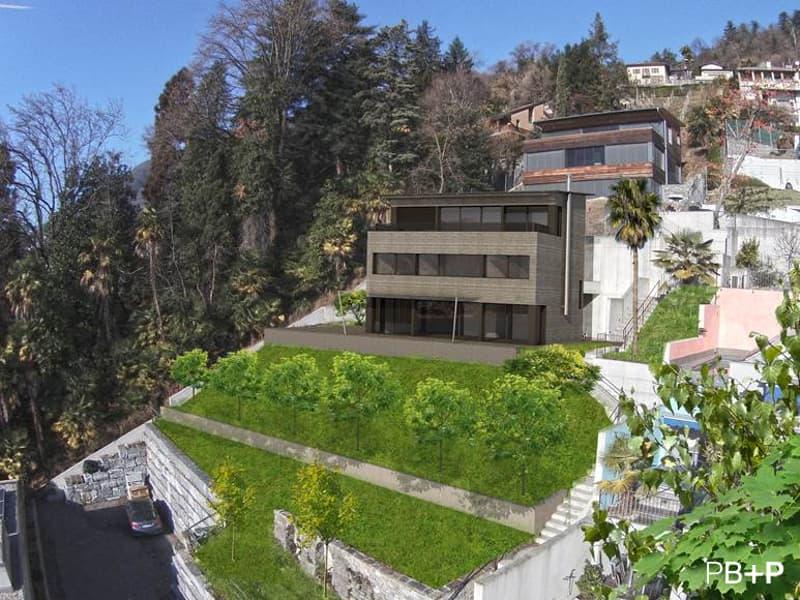 Terreno edificabile con magnifica vista sul Lago di Locarno (1)