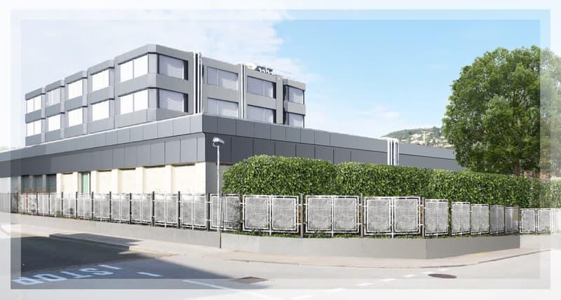 Centro Sole-Lugano-Pregassona, Spazi amministrativi modulabili (1)