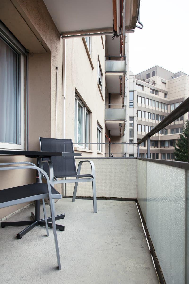 Furnished studio Apartment near Zurich HB / Möbliertes Studio-Apartment nähe Hauptbahnhof (6)