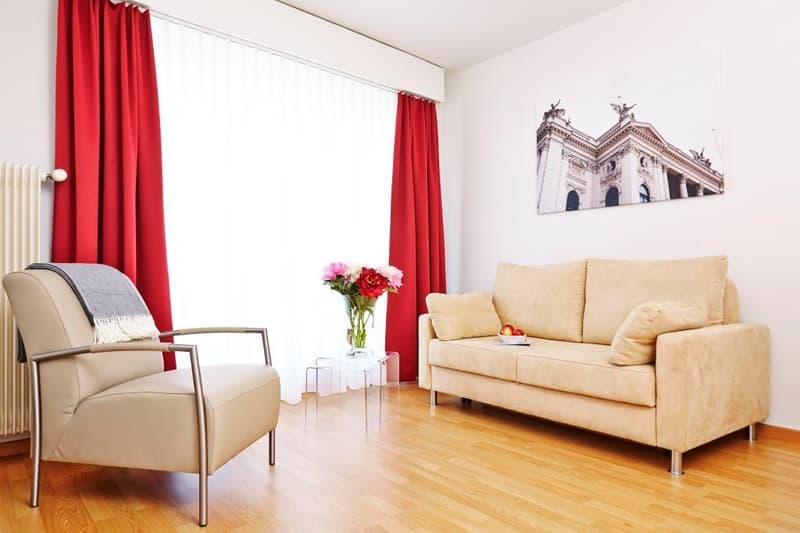 Furnished 1-bedroom Apartment near Hirslanden, Balgrist / Möbliertes 2-Zimmer Apartment (2)