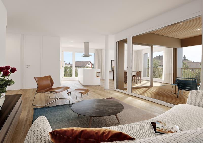 Einzigartiges Wohngefühl in hellen, kraftvollen Räumen (2)