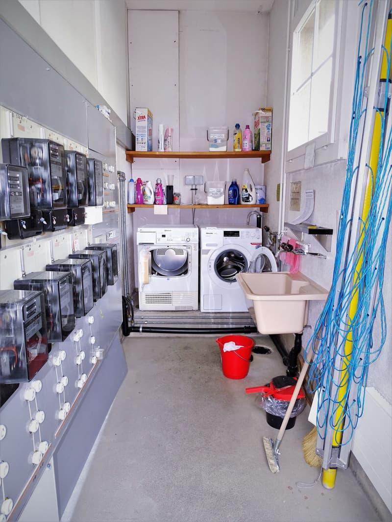 Waschküche: