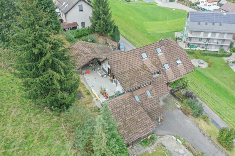 ...Terrasse der Dachwohnung