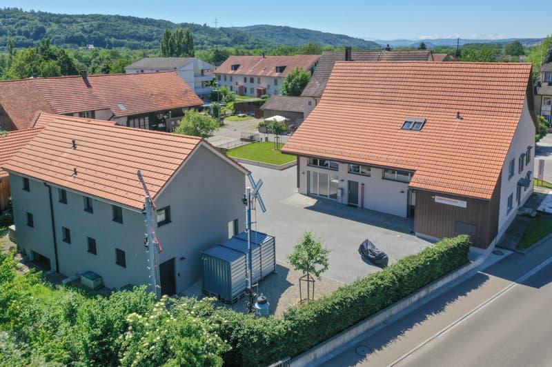 Luftbild beide Häuser