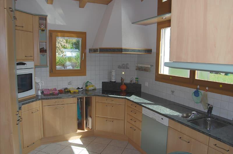 6.5-Zimmer-Einfamilienhaus mit Gartenanlage und Specksteinofen (2)
