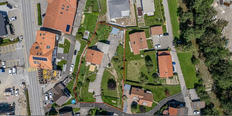 ATTRACTIF TERRAIN POUR CONSTRUCTION RÉSIDENTIELLE À CÔTÉ DE BULLE (2)