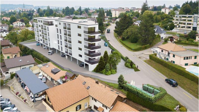 A vendre magnifique appartement de 3,5 pces sur la Commune de Marly (1)