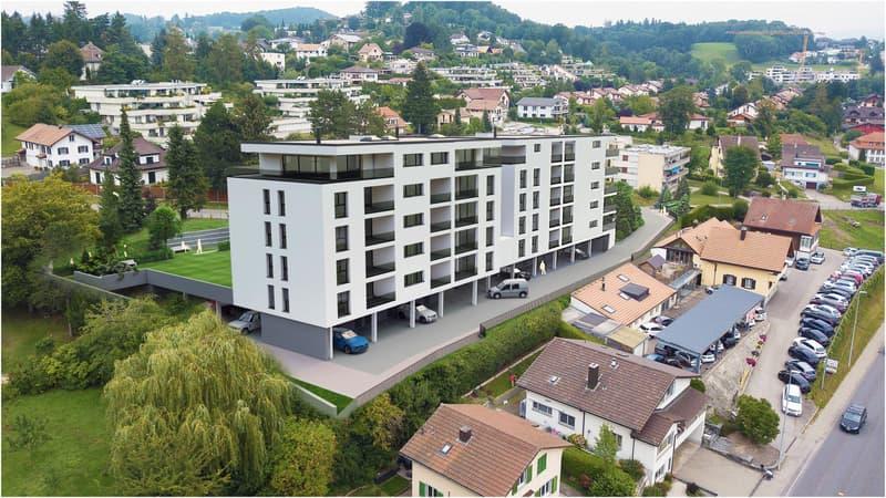 A vendre magnifique appartement de 4,5 pces sur la Commune de Marly (1)