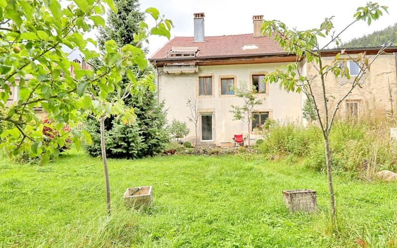 Maison villageoise de 3 appartements à rénover (4)