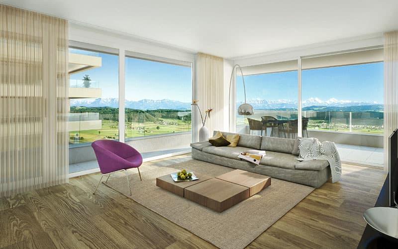 Perspektive Wohnzimmer