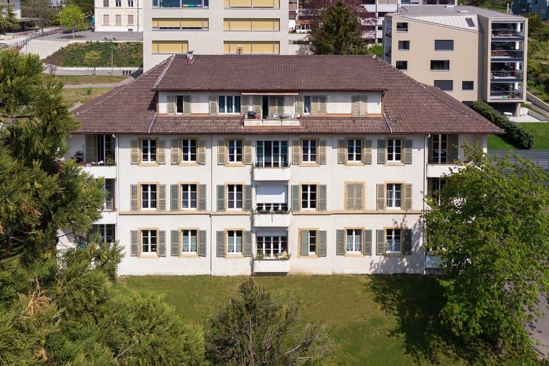Fraction d'immeuble (quote-part) – inscription au registre foncier (1)
