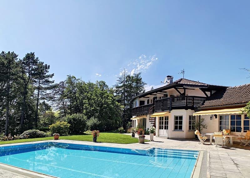 """Spacieuse villa avec vue magnifique """"lac et montagnes"""" (13)"""
