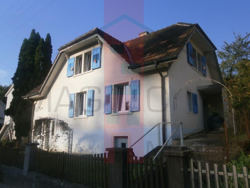 Jolie petite maison partiellement rénovée. (2)