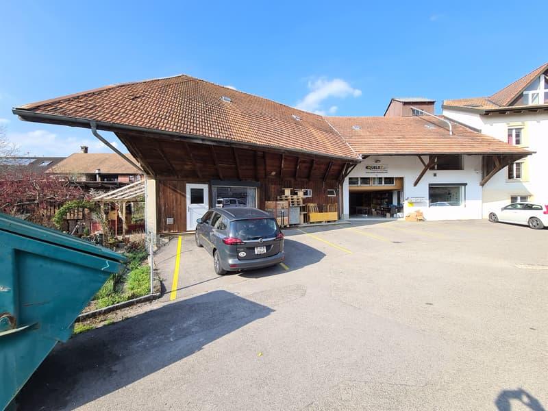 NOUVEAU PRIX DE VENTE - Immeuble comprenant entrepôts, bureaux, surfaces de stockage ateliers, etc. (13)