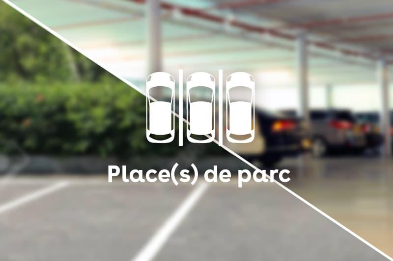 Places de parc dans garage collectif (1)