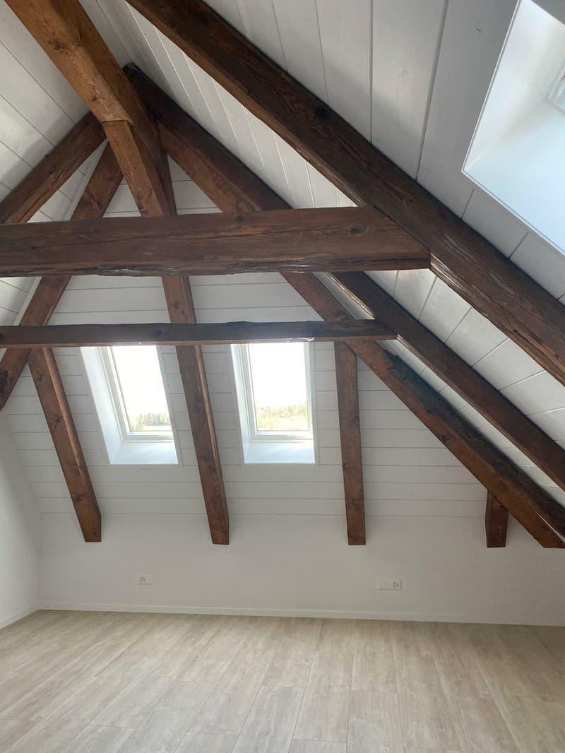 Magnifique attique en duplex avec balcon (6)