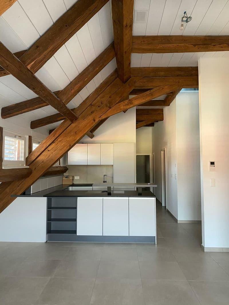 Magnifique attique en duplex avec balcon (1)