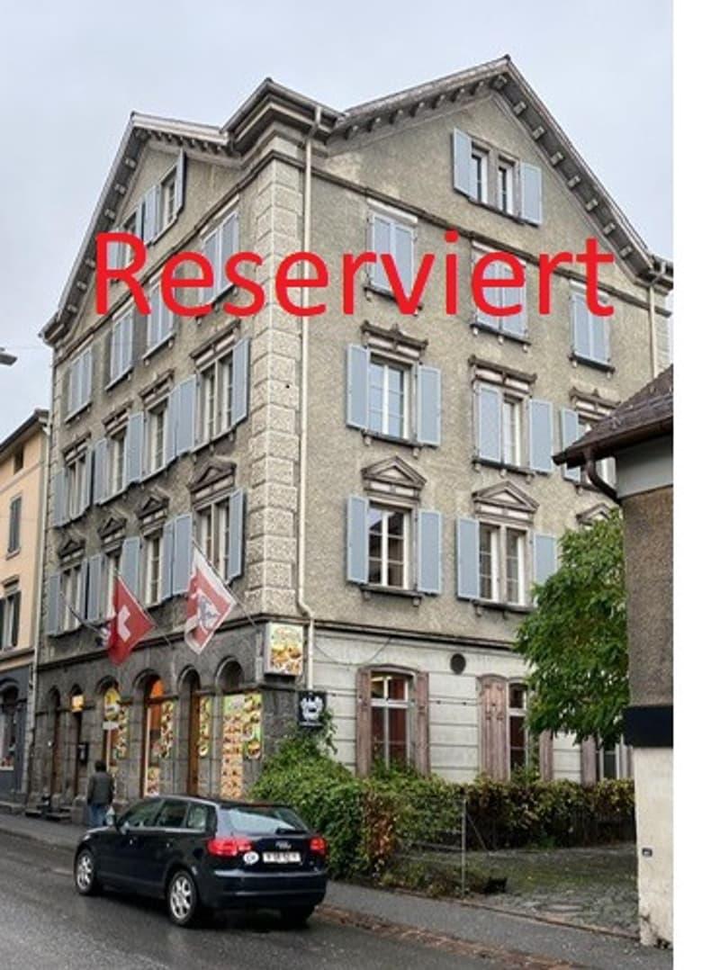 RESERVIERT: Renditeobjekt an bester Lage im Ausgangsviertel von Chur! (1)
