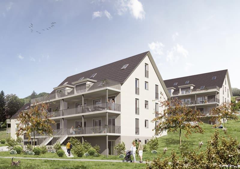 3.5-Zimmer Dachgeschosswohnung mit Erstbezug (1)