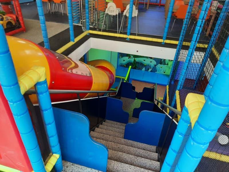 Spiel und Spass auf zwei Etagen