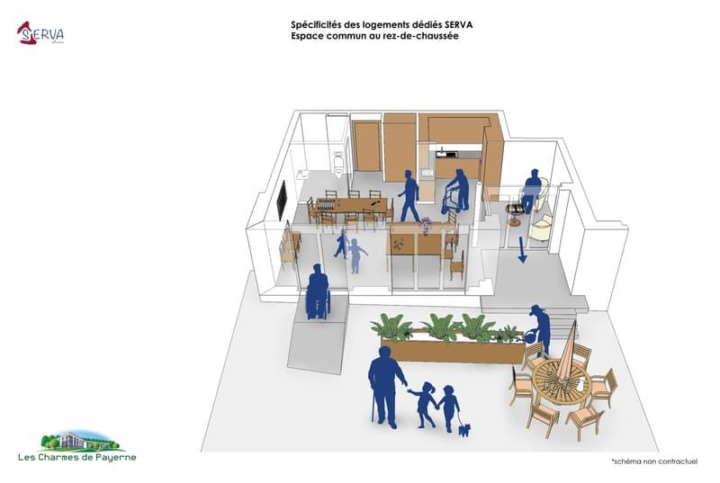 SENIORS - Bel appartement traversant adapté et adaptable de 3.5 pièces (5)