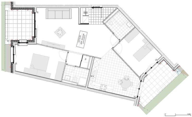 SENIORS - Bel appartement traversant adapté et adaptable de 3.5 pièces (2)