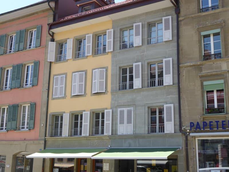 Appartement de 2.5 pces centre Ville de Romont (1)