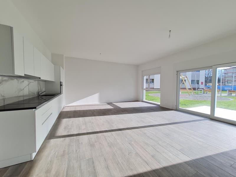 Appartements neufs de 3.5 pièces dès CHF 1'715.- charges comprises (2)
