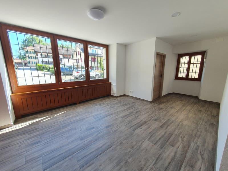 Appartement 3.5 pièces au rez au prix de CHF 1150.- charges comprises (2)