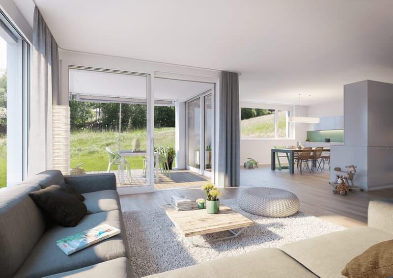Neubau: 5 1/2-Zimmer-Doppeleinfamilienhaus (2)