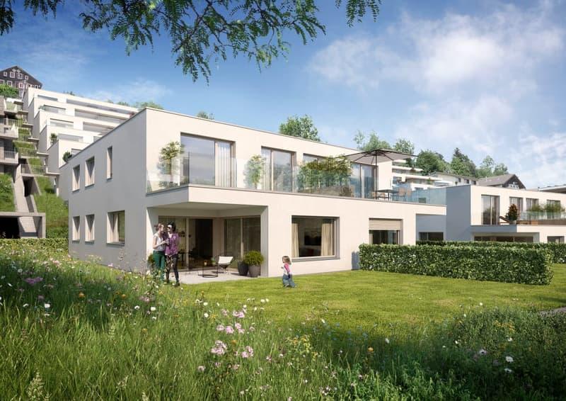 Neubau: 5 1/2-Zimmer-Doppeleinfamilienhaus (1)