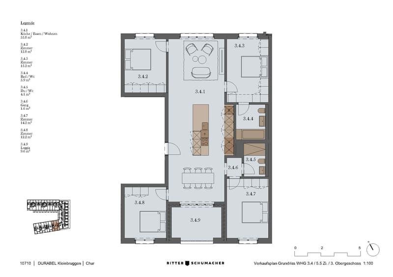 Chur West - Neubau Walserbüel - Ökologisch, hochwertig, überzeugend (4)