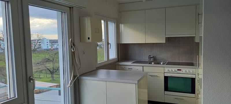Schöne helle 3 1/2 Wohnung mit Glanzböden (1)