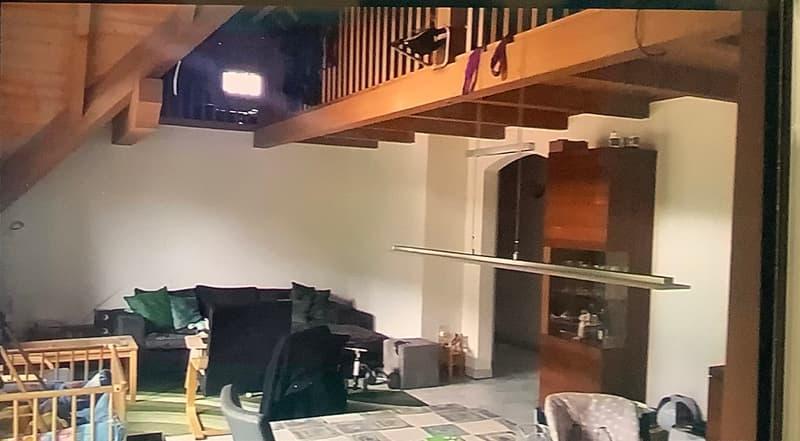 Dachwohnung mit Galerie  4,5 Zimmer (2)