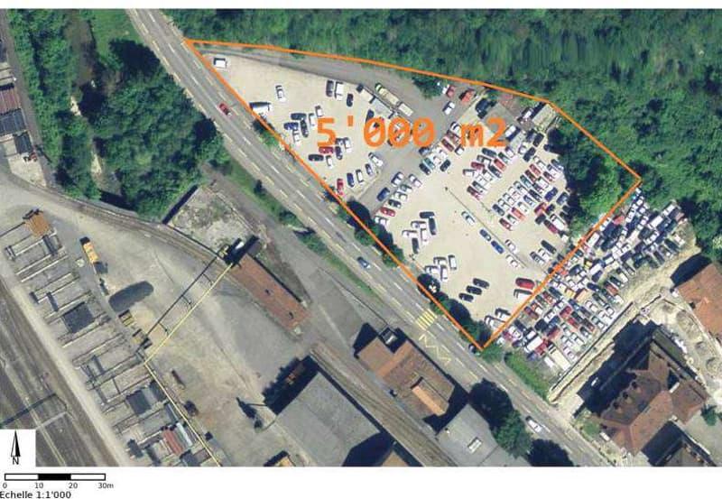 Industriebauland und Wohnbauland Courrendlin (JU) (1)