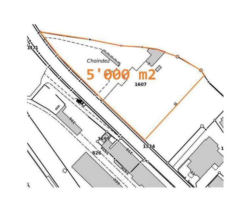 Industriebauland und Wohnbauland Courrendlin (JU) (2)