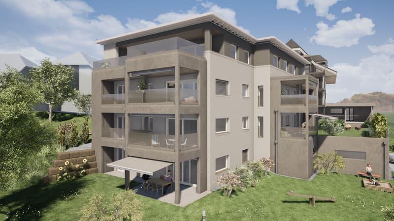 3.5-Zimmer-Wohnung im Obergeschoss (1)