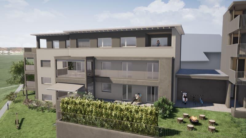 3.5-Zimmer-Wohnung im Obergeschoss (2)