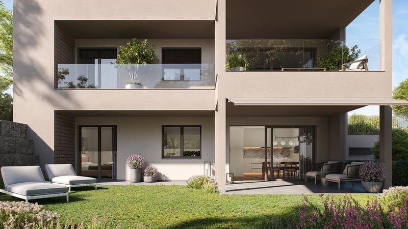 3.5-Zimmer-Wohnung im Gartengeschoss (1)