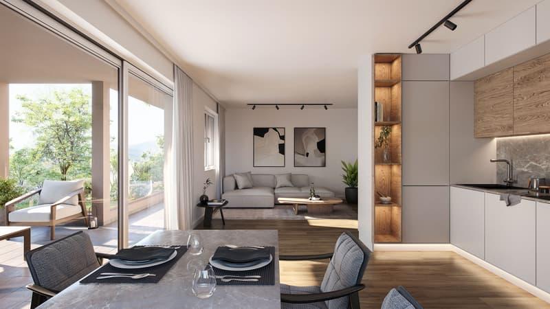 3.5-Zimmer-Wohnung im Gartengeschoss (2)
