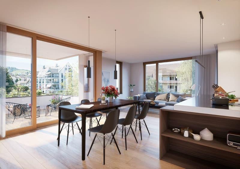 5 ½ Zimmer Dachwohnung (2)