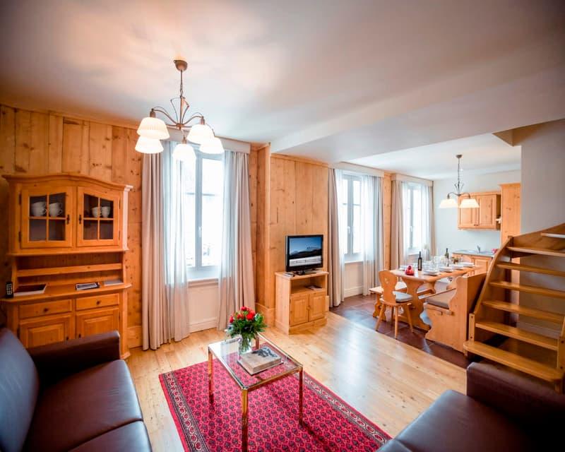 Appartamento nel cuore di Samedan (2)