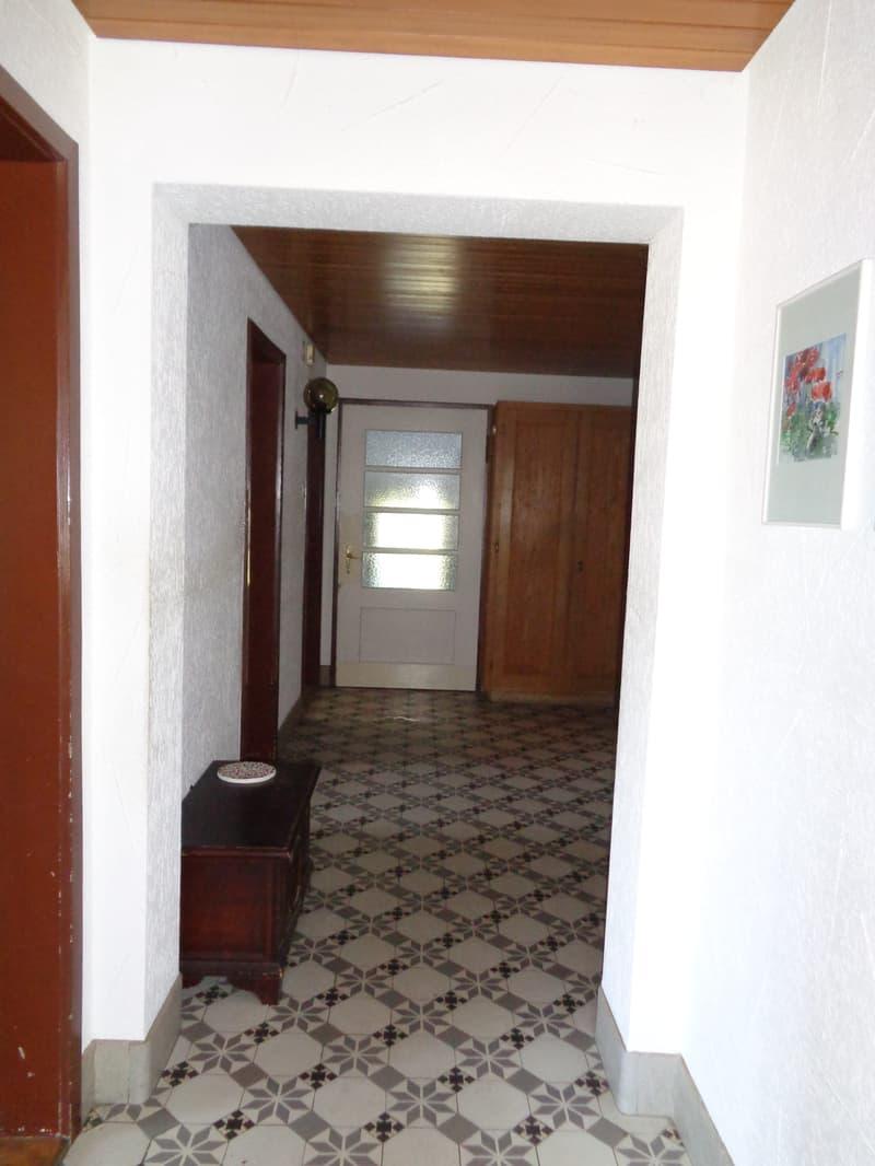 Mehrfamilienhaus in Härkingen mit zwei Wohnungen und Bachanstoss (2)