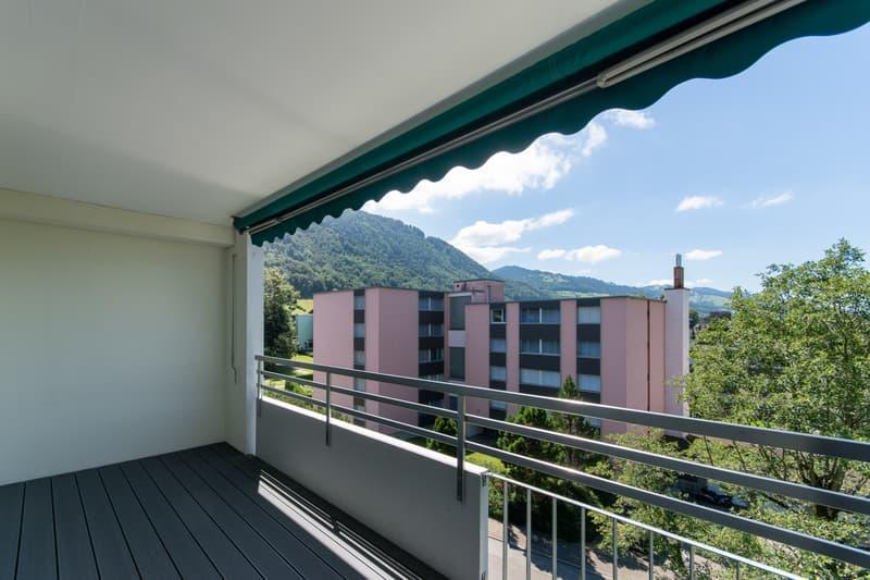 Schübelbach, gemütliches Wohnfeeling mit Sicht ins Grüne (1)