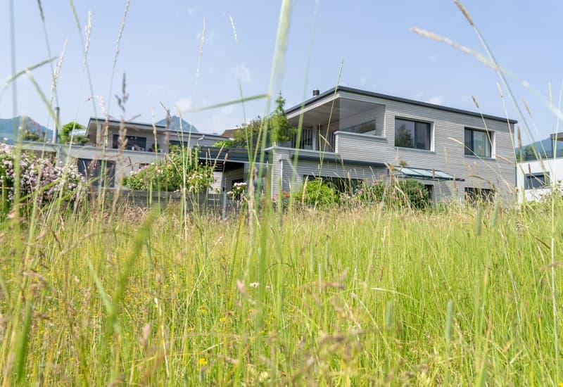 Einfamilienhaus in Sachseln mit Anteil an Seeparzelle (1)