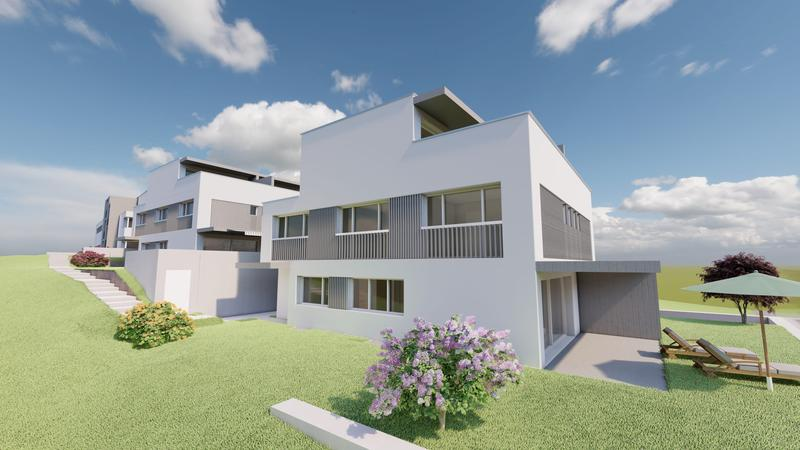 Doppel-Einfamilienhäuser Süd rechts / Nord links (1)