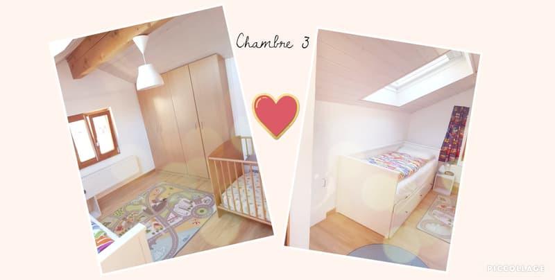 Maison jumelée à La Heutte, 10 min de Bienne (10)