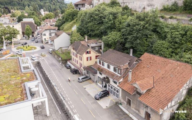 Immobilien Wyss - Renditeobjekt/Bauland beim Schlossbergparking Thun (1)