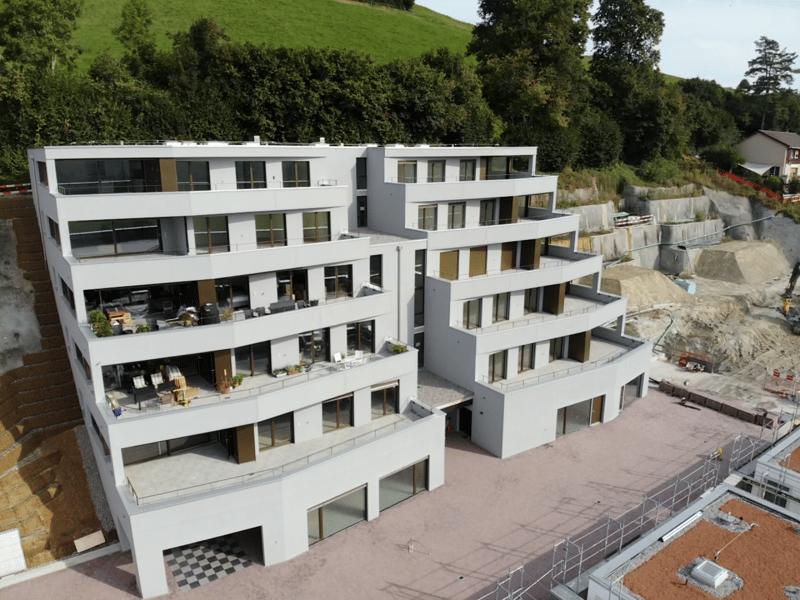 """4 1/2-Zimmer Terrassenhaus  """"Doldenhorn Ebene 1 west"""" (9)"""
